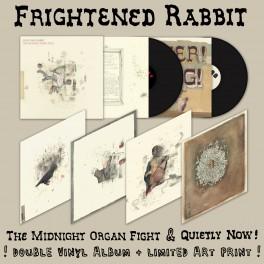 Frightened Rabbit - Midnight Organ Fight / Quietly Now! 2xLP