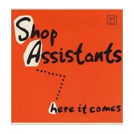 """Shop Assistants - Here It Comes 12"""" vinyl"""