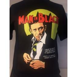 Man in Black by Butcher Billy black t-shirt
