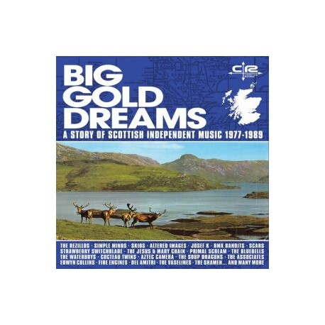 BIG GOLD DREAMS ~ A STORY OF SCOTTISH INDEPENDENT MUSIC 1977-1989: 5CD DELUXE BOXSET + BONUS CD
