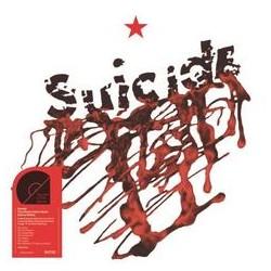 Suicide - Suicide Limited Edition Red Vinyl + art print