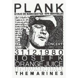 Josef K / Orange Juice Plank t-shirt