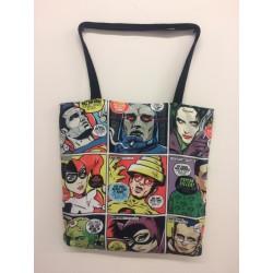 Post-Punk Baddies Butcher Billy large tote bag
