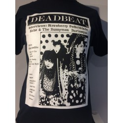 Deadbeat issue 16 with Strawberry Switchblade t-shirt