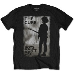 CURE UNISEX T-SHIRT BOYS DON'T CRY