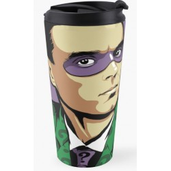 David Byrne Butcher Billy travel mug