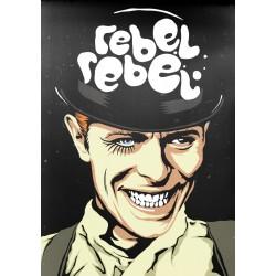 Rebel Rebel Butcher Billy limited Giclée art print