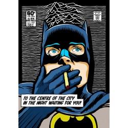 Post Punk Dark Night Butcher Billy limited Giclée art print