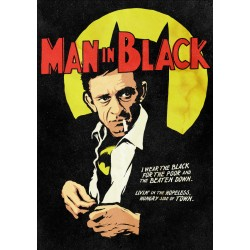 Man In Black Butcher Billy limited Giclée art print