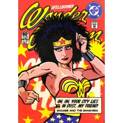 Post Punk Wonder Woman Butcher Billy limited Giclée art print