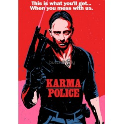 Karma Police Butcher Billy limited Giclée art print