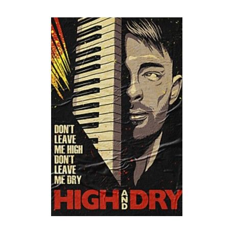 High and Dry Butcher Billy limited Giclée art print