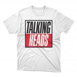 Talking Heads white t-shirt