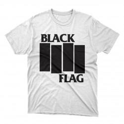 Black Flag white or black t-shirt