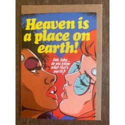 Heaven is a place on earth Butcher Billy card