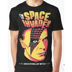 Space Invadert-shirt by Butcher Billy
