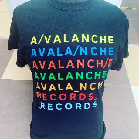 Avalanche in Rainbows t-shirt