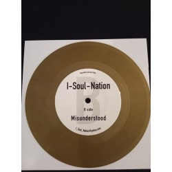 """I-SOUL-NATION GOLD VINYL 7"""""""