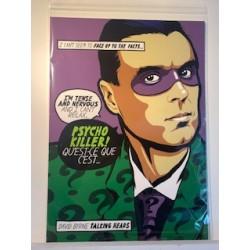Post-Punk Psycho Butcher Billy limited Giclée art print